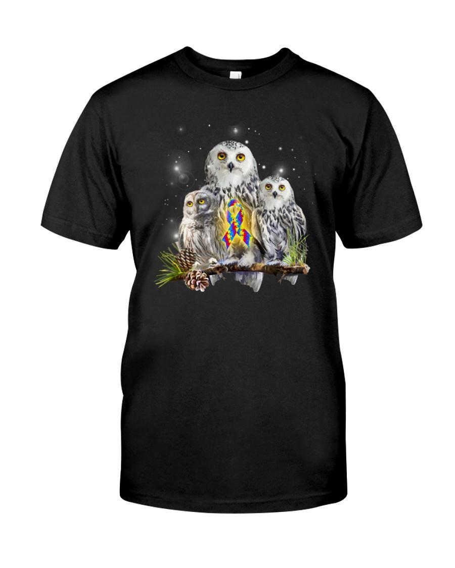 Owl Autism Classic T-Shirt