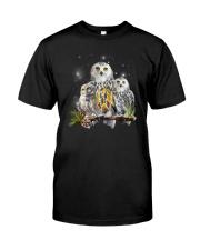 Owl Autism Classic T-Shirt front