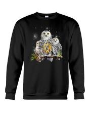 Owl Autism Crewneck Sweatshirt thumbnail