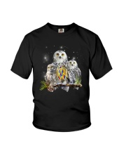 Owl Autism Youth T-Shirt thumbnail