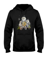 Owl Autism Hooded Sweatshirt thumbnail