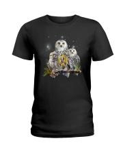 Owl Autism Ladies T-Shirt thumbnail