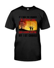 Dad My Choice Classic T-Shirt thumbnail