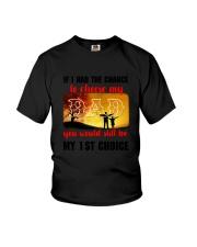 Dad My Choice Youth T-Shirt thumbnail