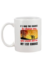 Dad My Choice Mug back