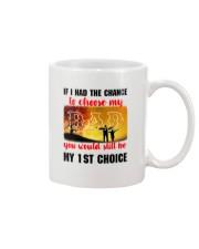 Dad My Choice Mug front