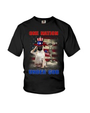 Pug One Nation Youth T-Shirt thumbnail