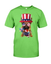 Independence Day German Shepherd Classic T-Shirt front