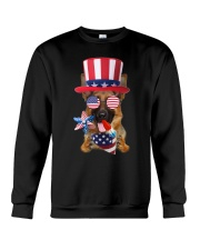 Independence Day German Shepherd Crewneck Sweatshirt thumbnail