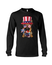 Independence Day German Shepherd Long Sleeve Tee thumbnail