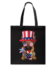 Independence Day German Shepherd Tote Bag thumbnail
