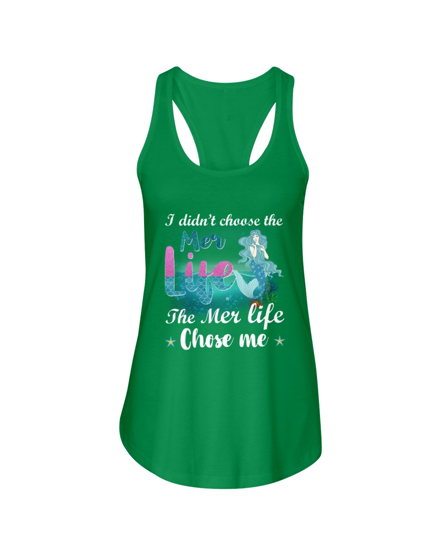 Mermaid Chose Me Ladies Flowy Tank