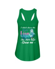 Mermaid Chose Me Ladies Flowy Tank front