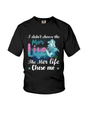 Mermaid Chose Me Youth T-Shirt tile