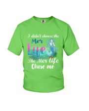 Mermaid Chose Me Youth T-Shirt front