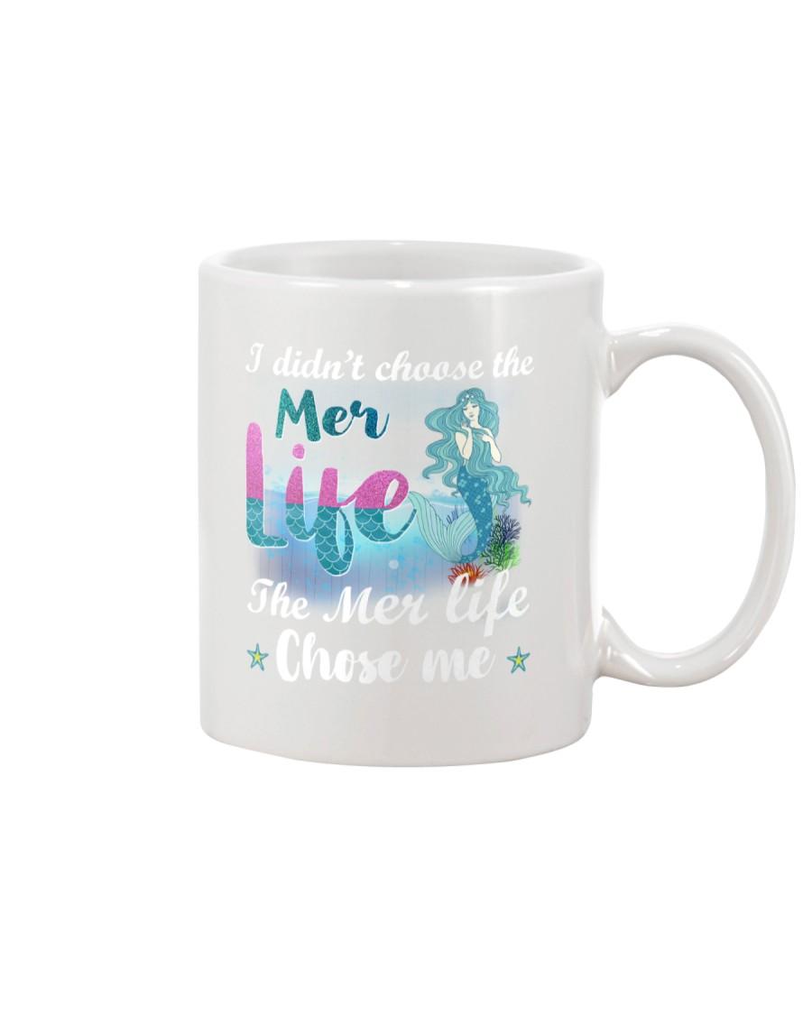 Mermaid Chose Me Mug