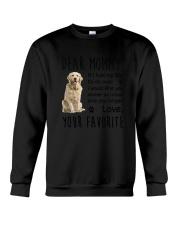 Dear Mommy Golden Retriever Crewneck Sweatshirt thumbnail