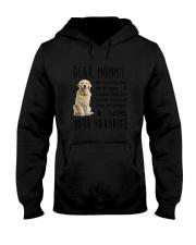 Dear Mommy Golden Retriever Hooded Sweatshirt thumbnail