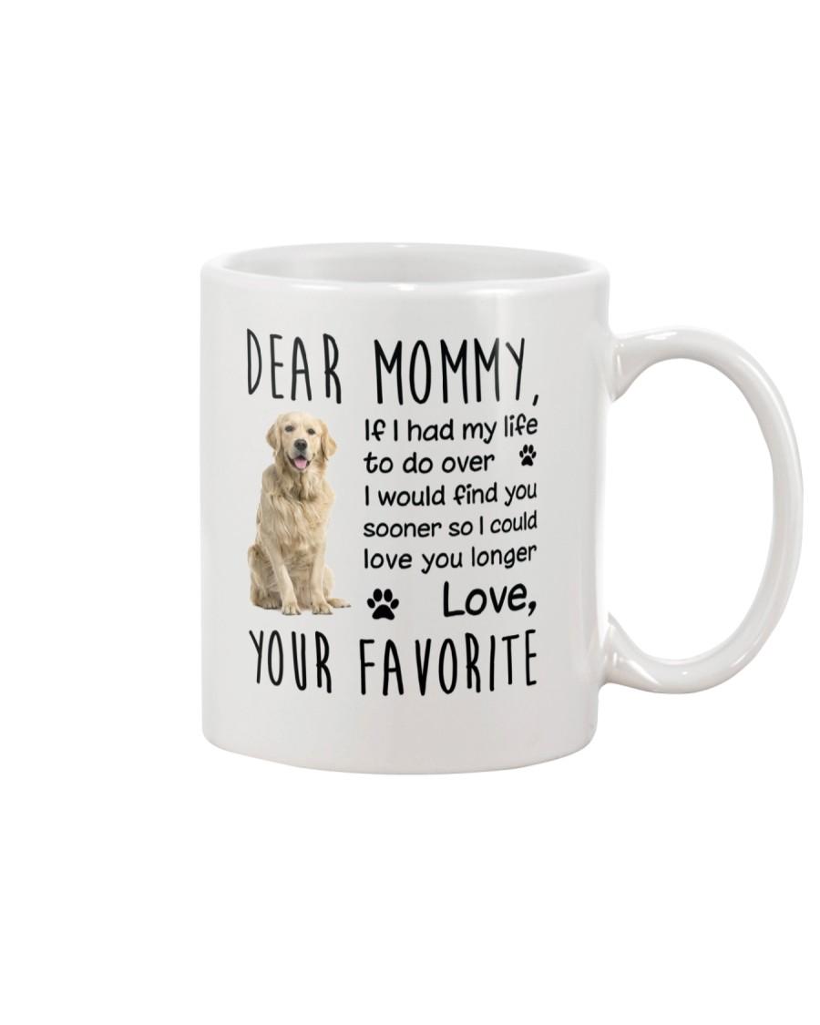 Dear Mommy Golden Retriever Mug