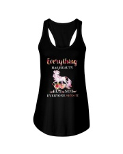 Everythings Beauty Unicorn Ladies Flowy Tank thumbnail