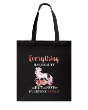 Everythings Beauty Unicorn Tote Bag thumbnail