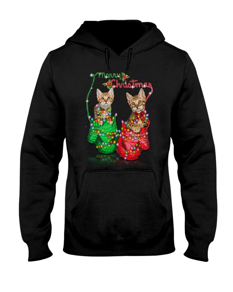 PHOEBE - Bengal Merry Xmas - 1310 - 91 Hooded Sweatshirt