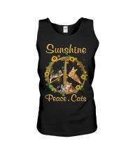 Sunshine Peace Cats Unisex Tank thumbnail
