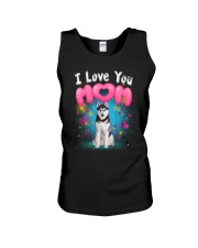 Siberian Husky  I Love Mom Unisex Tank thumbnail