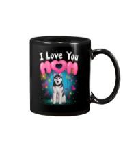 Siberian Husky  I Love Mom Mug thumbnail