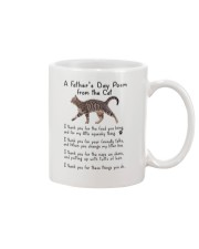 Poem From Cat Mug front