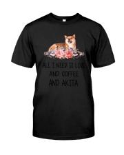 Akita All I Need Classic T-Shirt thumbnail