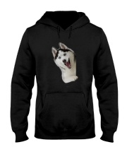 Hello Siberian Husky Hooded Sweatshirt thumbnail