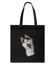 Hello Siberian Husky Tote Bag thumbnail