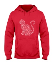 Cat Snowflake  Hooded Sweatshirt front