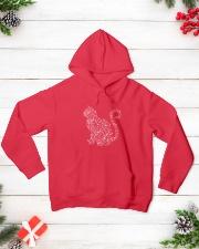 Cat Snowflake  Hooded Sweatshirt lifestyle-holiday-hoodie-front-3