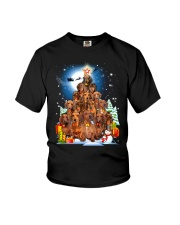Dachshund Pine Phoebe 018 Youth T-Shirt thumbnail