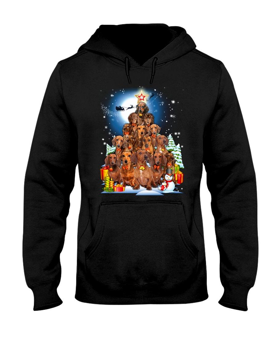 Dachshund Pine Phoebe 018 Hooded Sweatshirt