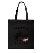 Doberman Pinscher Happily Ever After Tote Bag thumbnail