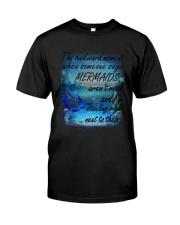 Mermaid Standing Right Classic T-Shirt thumbnail