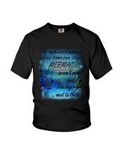 Mermaid Standing Right Youth T-Shirt thumbnail