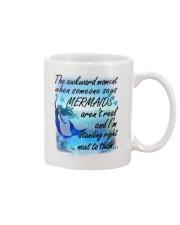 Mermaid Standing Right Mug front