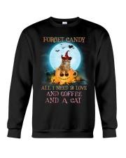 Cat And Coffee All I Need Crewneck Sweatshirt front