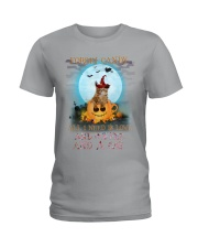 Cat And Coffee All I Need Ladies T-Shirt thumbnail
