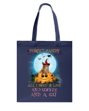 Cat And Coffee All I Need Tote Bag thumbnail