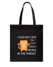 Cat Throat Tote Bag thumbnail