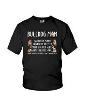 Bulldog Mom Youth T-Shirt thumbnail