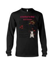 Poem From Bull Terrier Long Sleeve Tee thumbnail