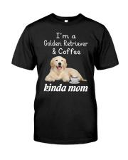 Golden Retriever Kinda Mom Classic T-Shirt thumbnail