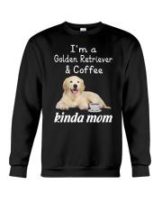 Golden Retriever Kinda Mom Crewneck Sweatshirt thumbnail