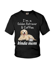 Golden Retriever Kinda Mom Youth T-Shirt thumbnail